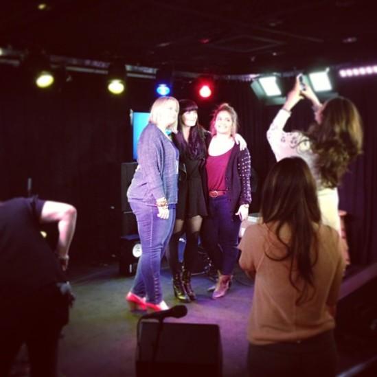 PHOTO: Ginny Blackmore Live From KissFM Mixtape Mondays
