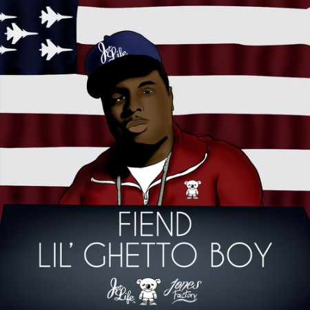 fiend lil ghetto boy artwork
