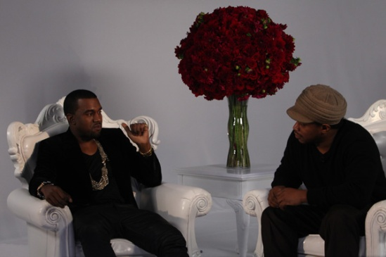Sway and Kanye west